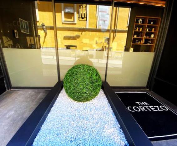 Entrée Hôtel Cortezo