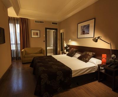Chambre double Hôtel Cortezo