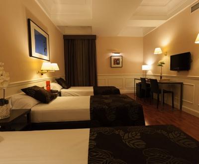 chambre triple Hôtel Cortezo