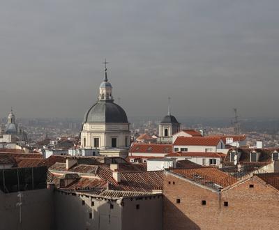 Vue depuis la terrace Hôtel Cortezo